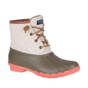 Sperry Saltwater Waterproof Duck Boot